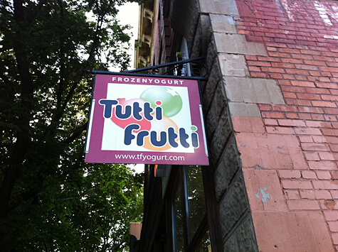 Tutti Frutti at 10420 Whyte Avenue.