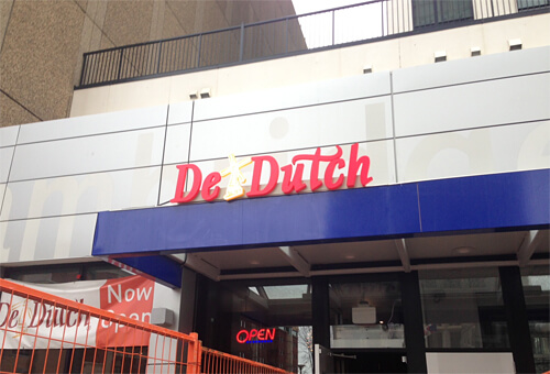De Dutch at 10030 Jasper Ave.