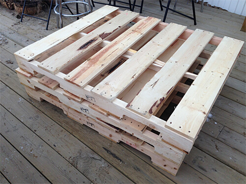 Wooden pallets!!! For the Edmonton Home + Garden Show Pallet Challenge in support of Ronald McDonald House Northern Alberta!