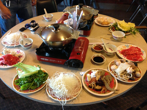 Bangkok Restaurant Hot Pot Edmonton