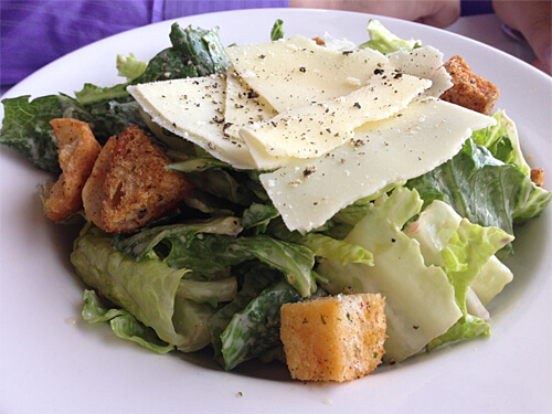 Traditional In-House Caesar Salad at La Ronde Revolving Restaurant (Small - $9)