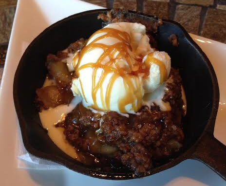 Apple Crisp at Absolutely Edibles