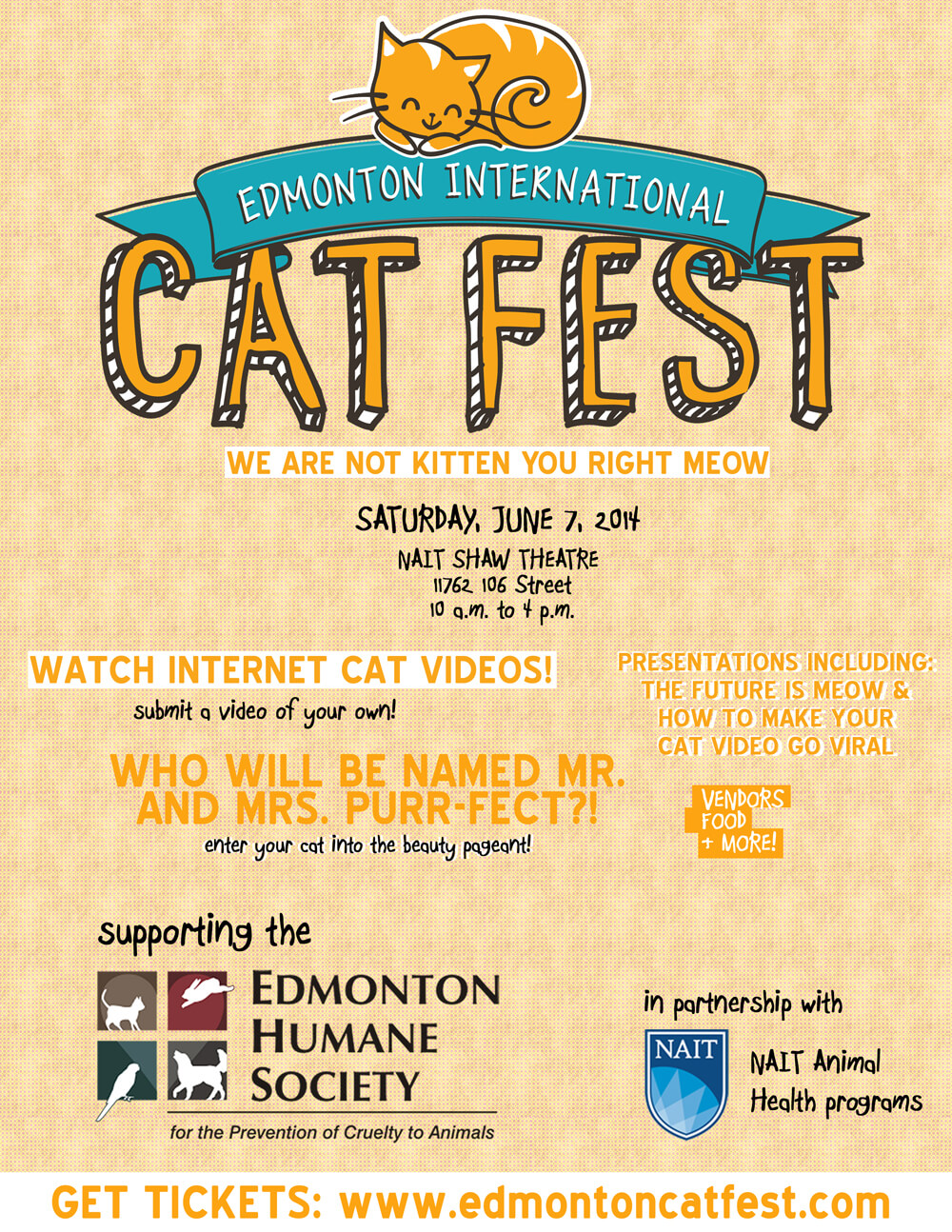 The Edmonton International Cat Festival!