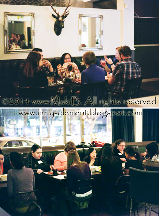 A glimpse of #yegfoodblogs at The Common! Photo Credit: Maki (In My Element/http://inmy-element.blogspot.ca/)