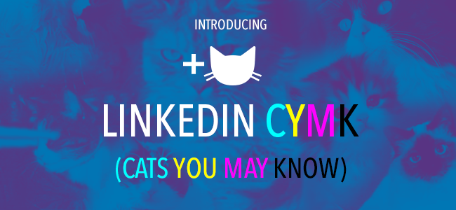 "Find out how you're ""cat-nected"" with LinkedIn's ""Cats You May Know."""