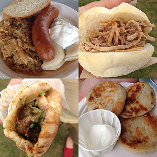 Some of the great dishes we tried at Heritage Festival 2014!