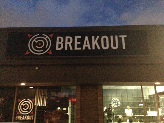 BreakOut Live Action Escape is located at 16604 109 Avenue!