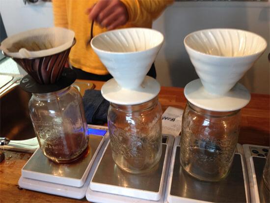 Slowly-brewed coffee!
