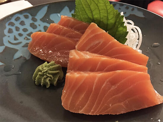 Six-piece sashimi for $8 at Ninja Club!