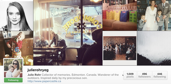 Edmonton Instagram Users - julierohryeg