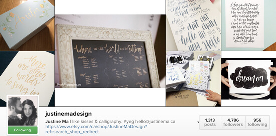Edmonton Instagram Users - justinemadesign