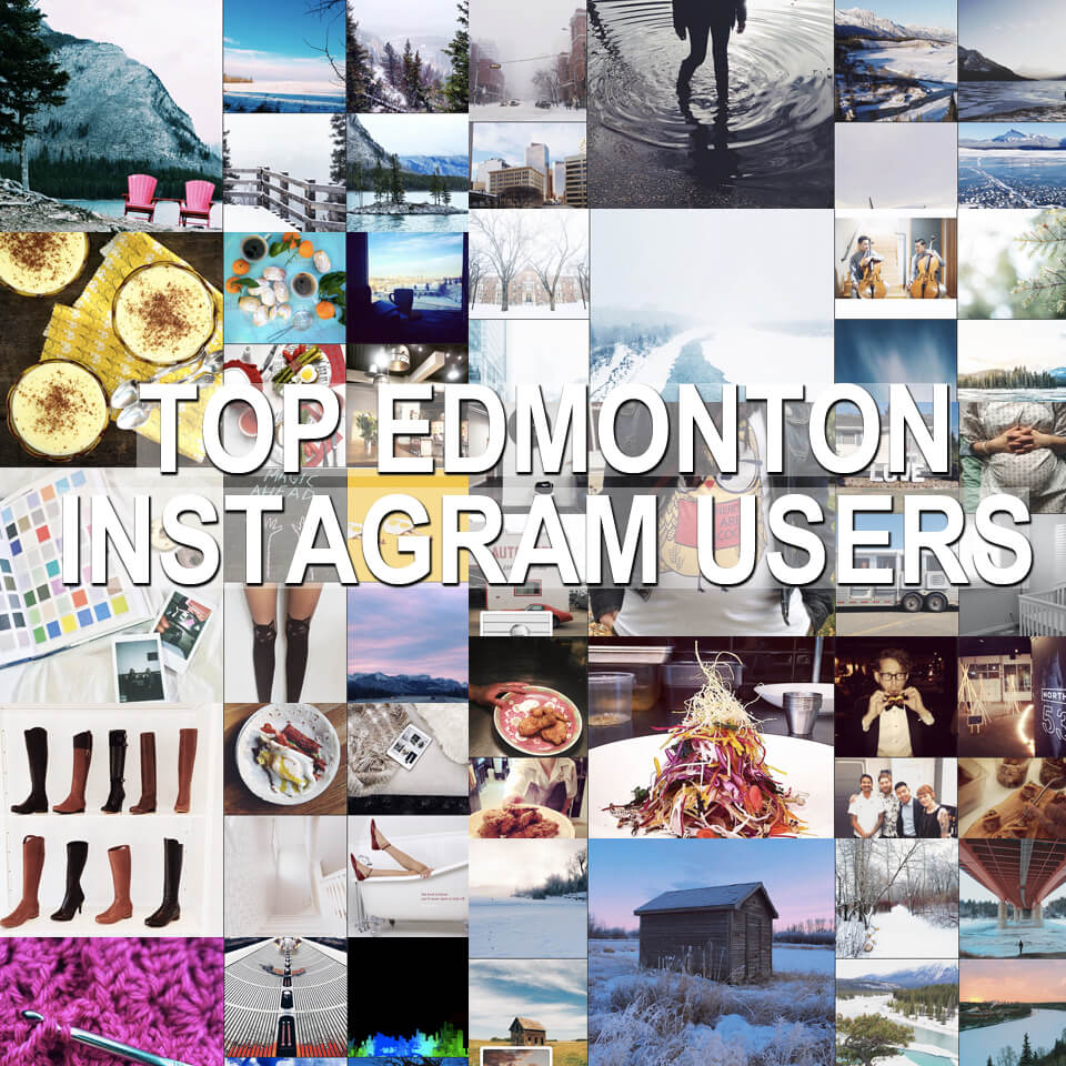 Top Edmonton Instagram Users