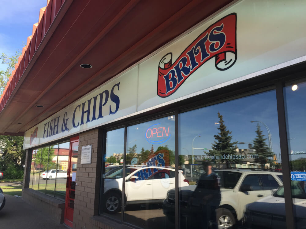 Brits Fish and Chips Edmonton 1