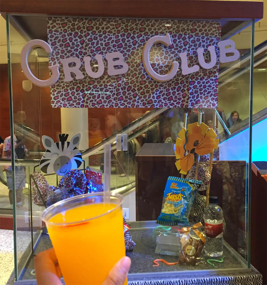 Got myself a Jungle Juice (with worm included) at the Grub Club before The Lion King!