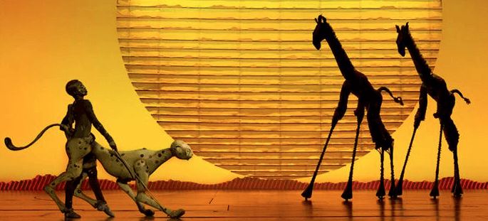 Incredible puppetry / costumes / set at The Lion King! (Photo credit: The Lion King Facebook Page)