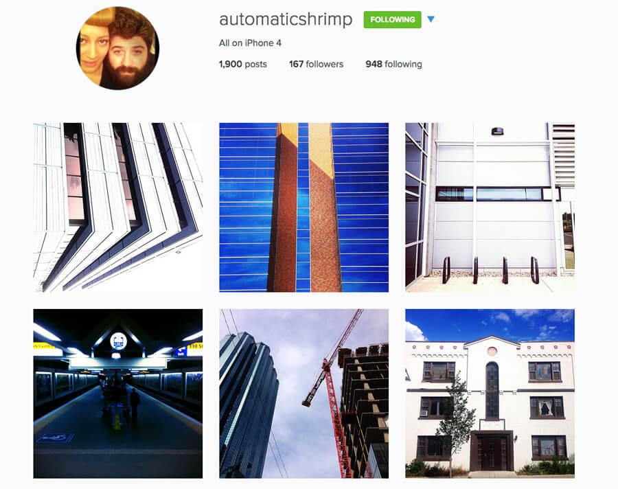 Edmonton Instagram Users - automaticshrimp