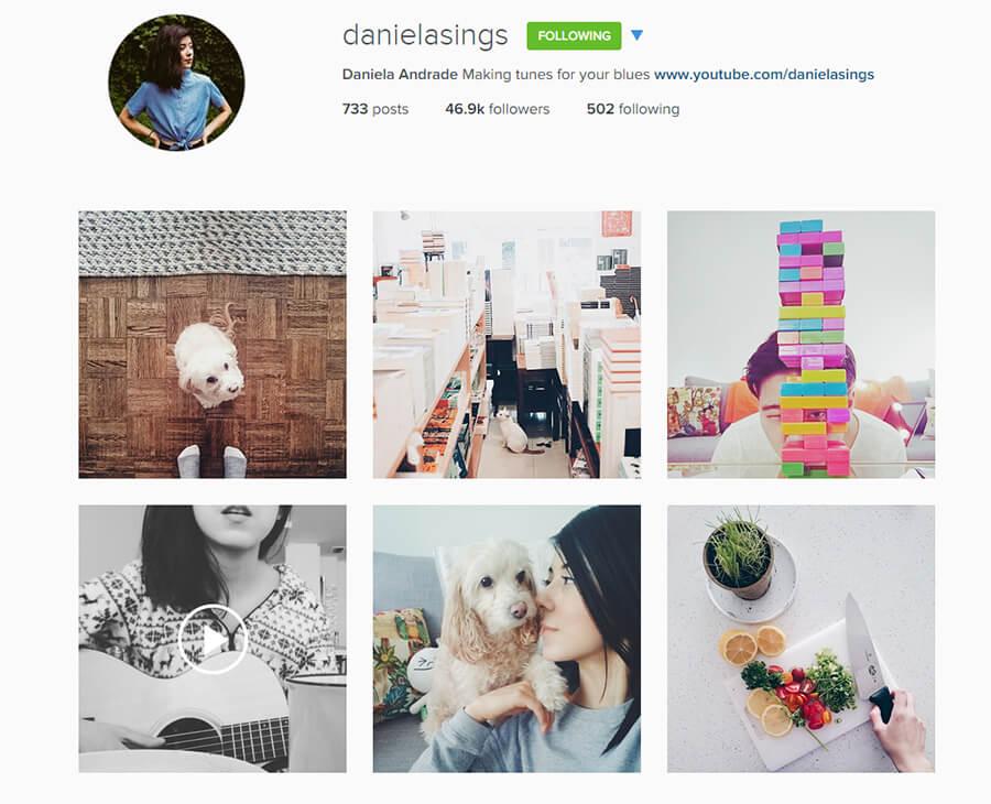 Edmonton Instagram Users - danielasings