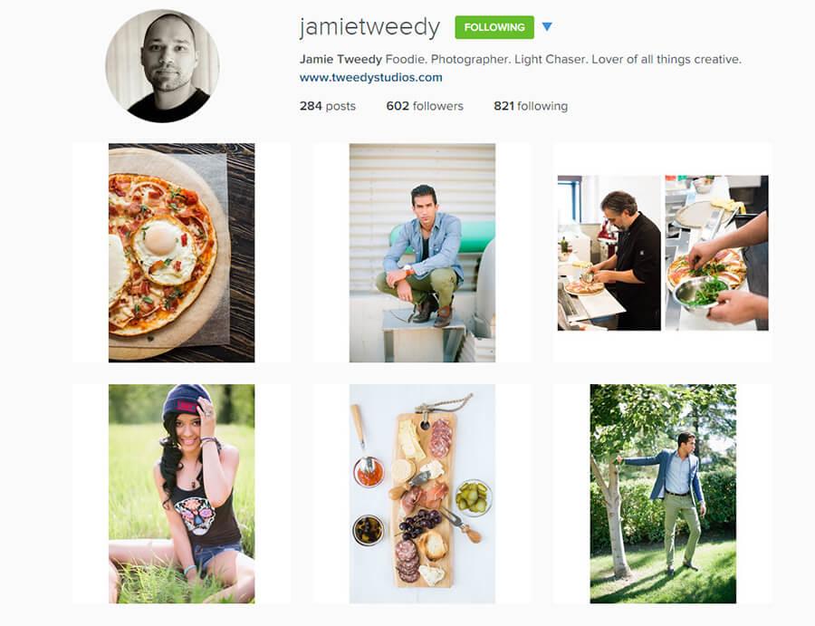 Edmonton Instagram Users - jamietweedy
