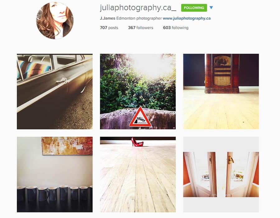 Edmonton Instagram Users - juliaphotography_