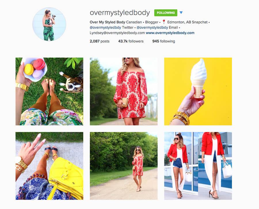 Edmonton Instagram Users - overmystyledbody