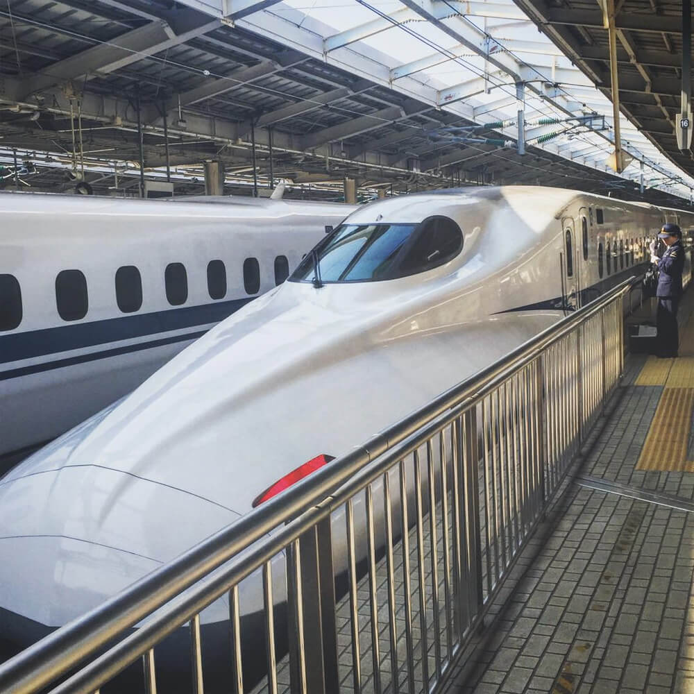 Travel Japan - Guide to Japan - Shinkansen Bullet Train