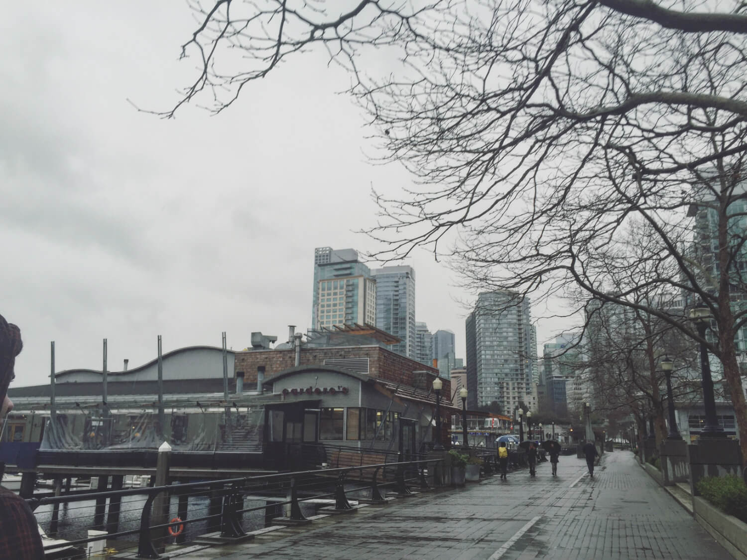 Coal Harbour Vancouver Waterfront