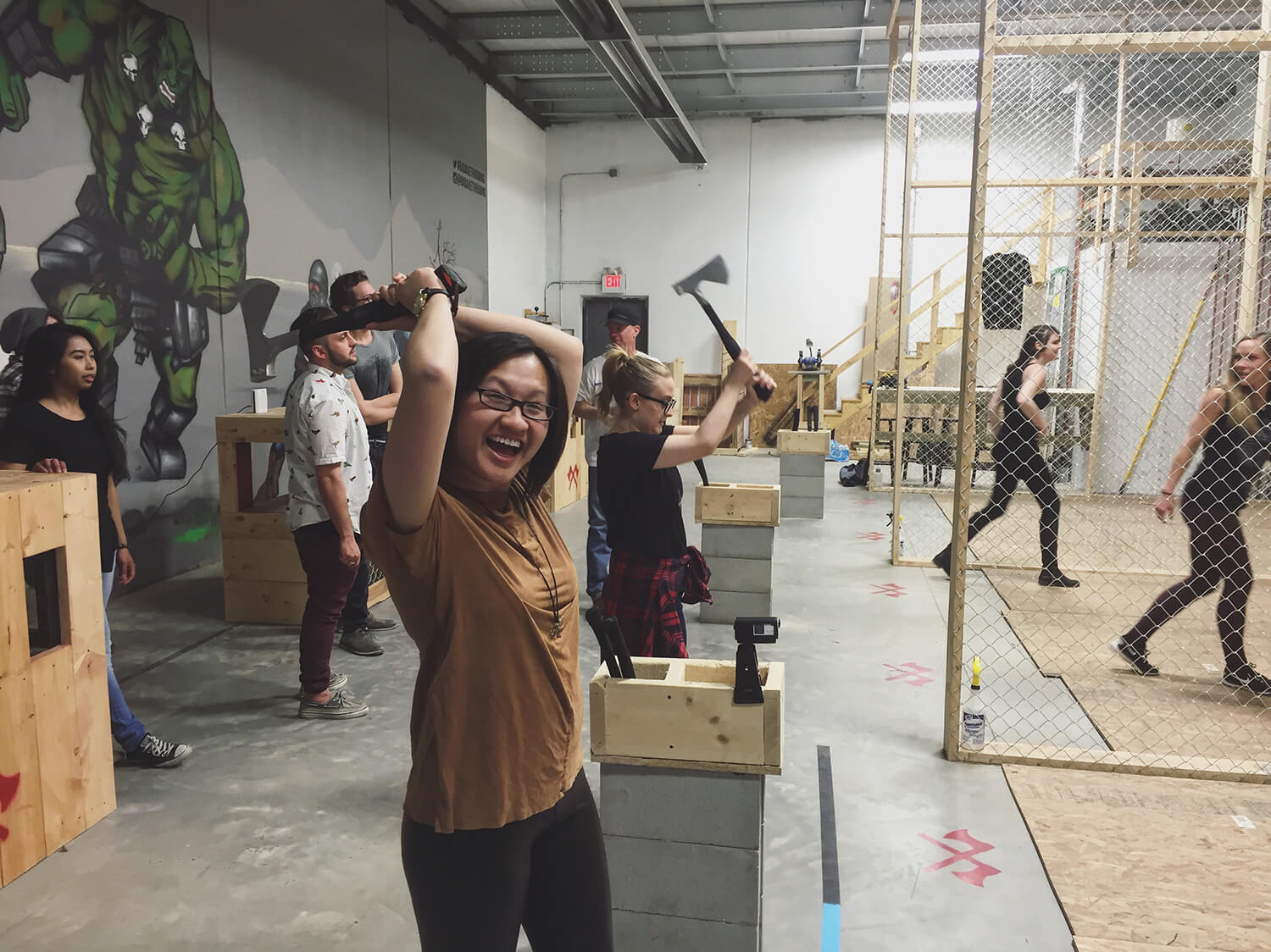 Bad Axe Throwing - Edmonton - Axe Throw