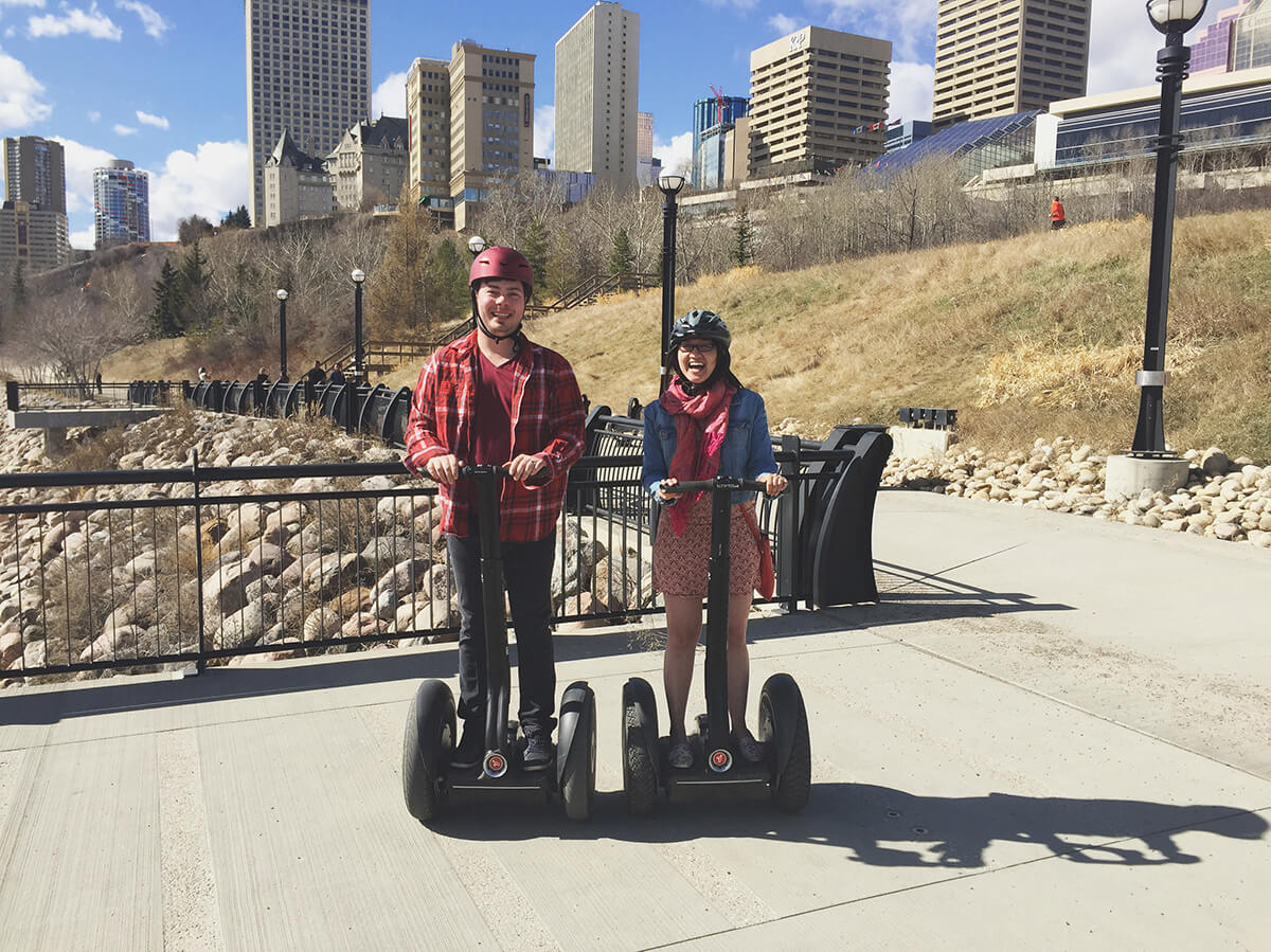 River Valley Adventure Company Edmonton Segway Tour