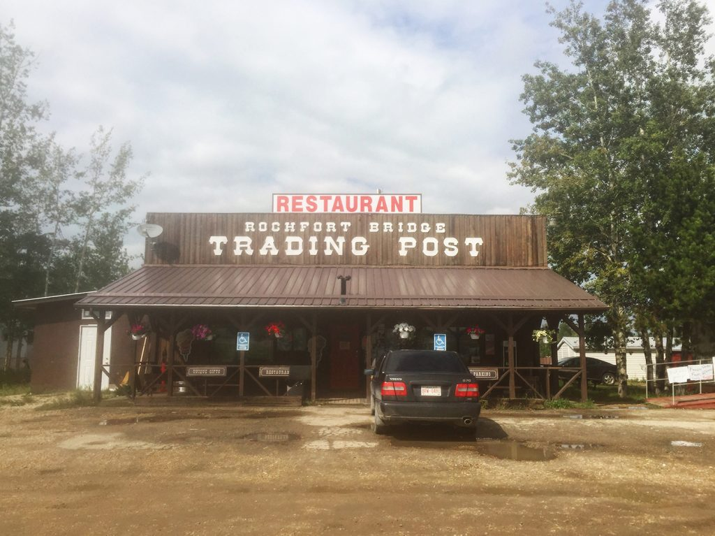 Rochfort Bridge Trading Post Restaurant - Explore Alberta - Travel