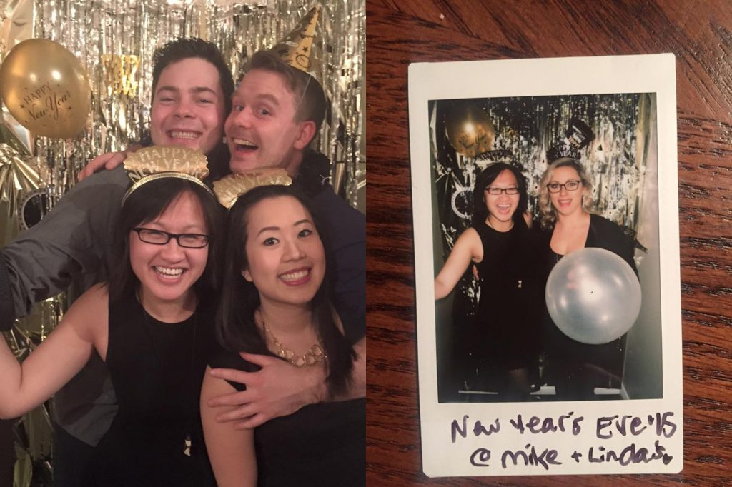 New Years Eve Photo Wall