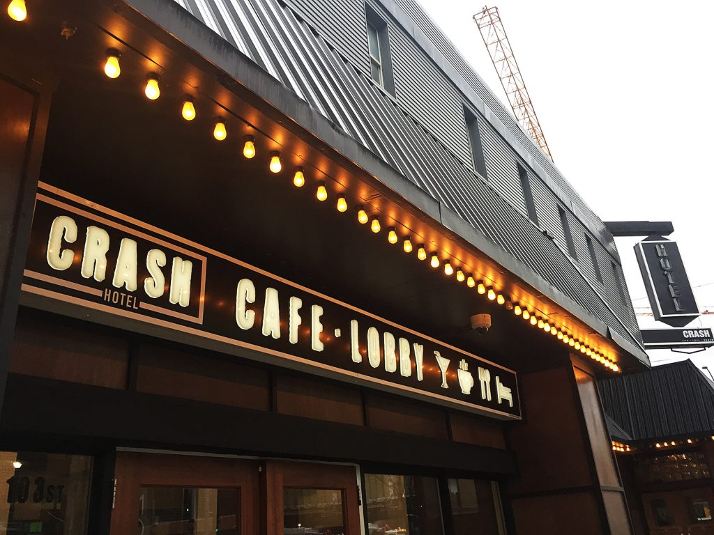 Crash Hotel Lobby Bar Edmonton