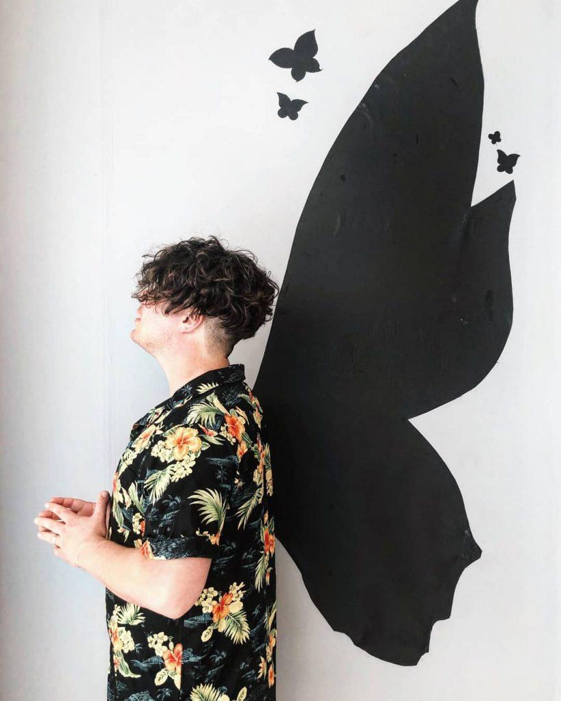 Butterfly Wall Instagrammable