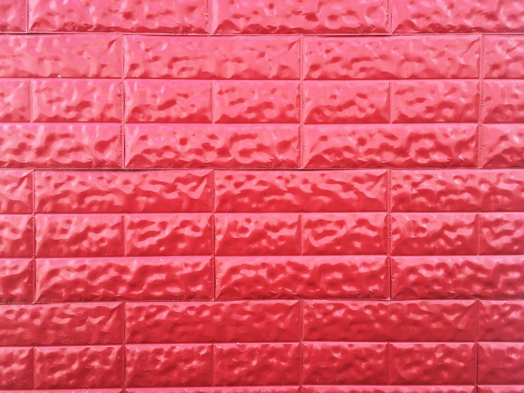 Instagrammable Walls of Edmonton - Red Wall - Downtown