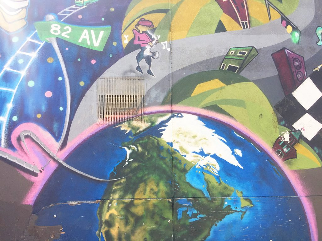 Instagrammable Walls of Edmonton - Whyte Avenue Mural