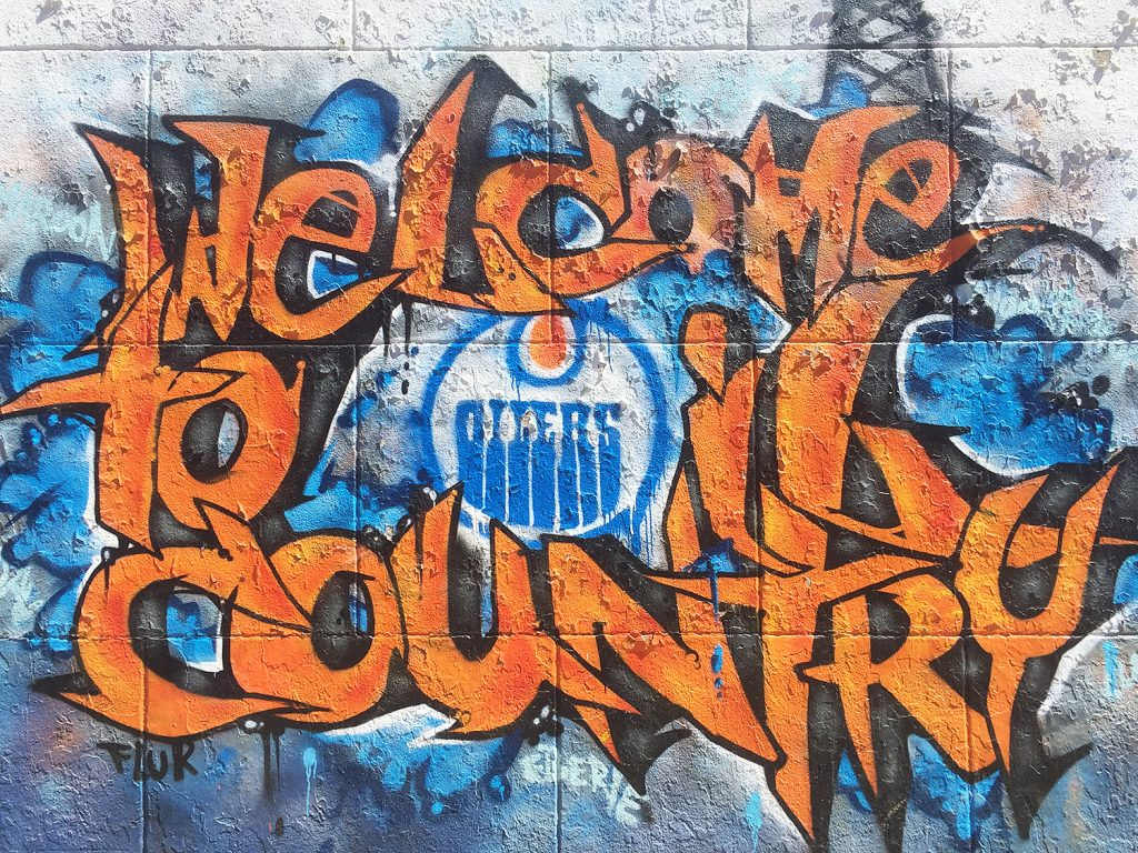 Instagrammable Walls of Edmonton - Whyte Avenue - Oil Country