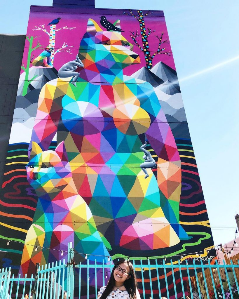 Instagrammable Walls of Old Strathcona Whyte Avenue Edmonton Okuda San Miguel