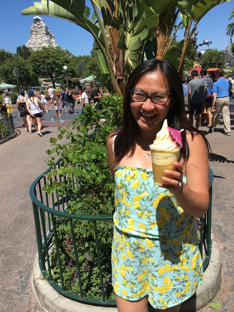 Disneyland California Adventure Food - Dole Whip