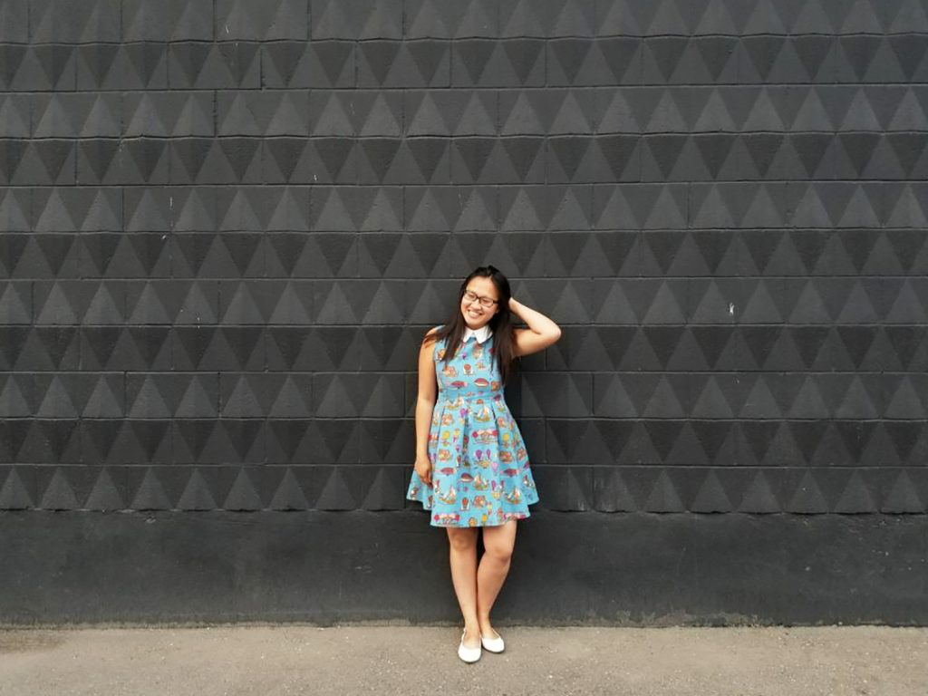 Instagrammable Walls of Calgary - Black Wall - Lindt Chocolate