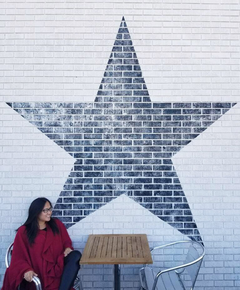 Instagrammable Walls of Calgary - Blue Star Diner