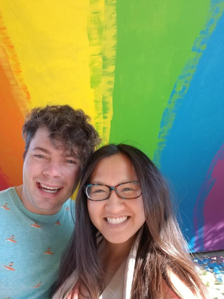 Instagrammable Walls of Calgary - Rainbow Underpass Sunnyside Bridge Pride