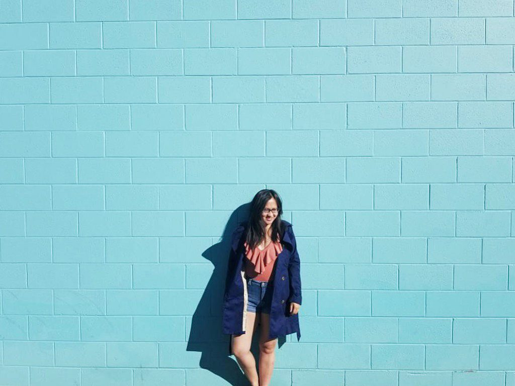 Instagrammable Walls of Calgary - Reids Blue Wall