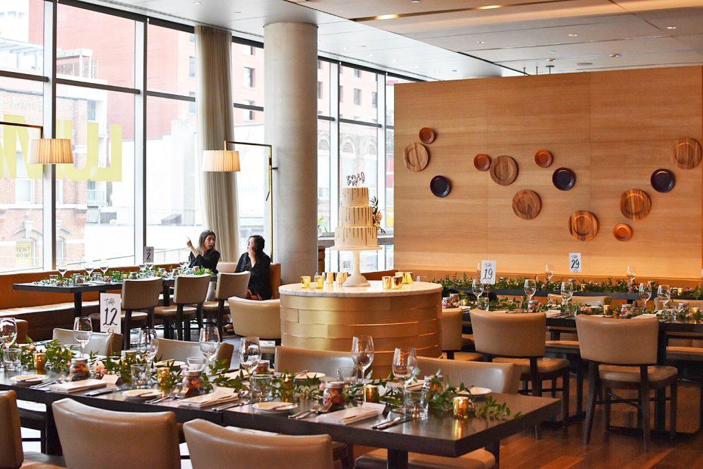 Luma Restaurant TIFF Bell Lightbox Toronto