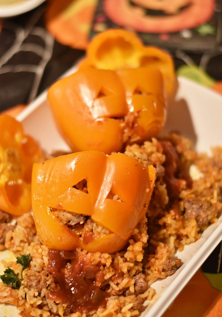 Halloween Food - Bell Peppers