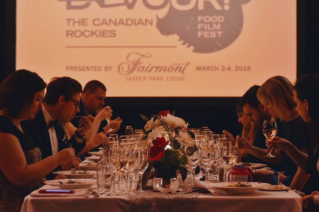 Devour Food Film Festival Canadian Rockies Fairmont Jasper Park Lodge Explore Alberta