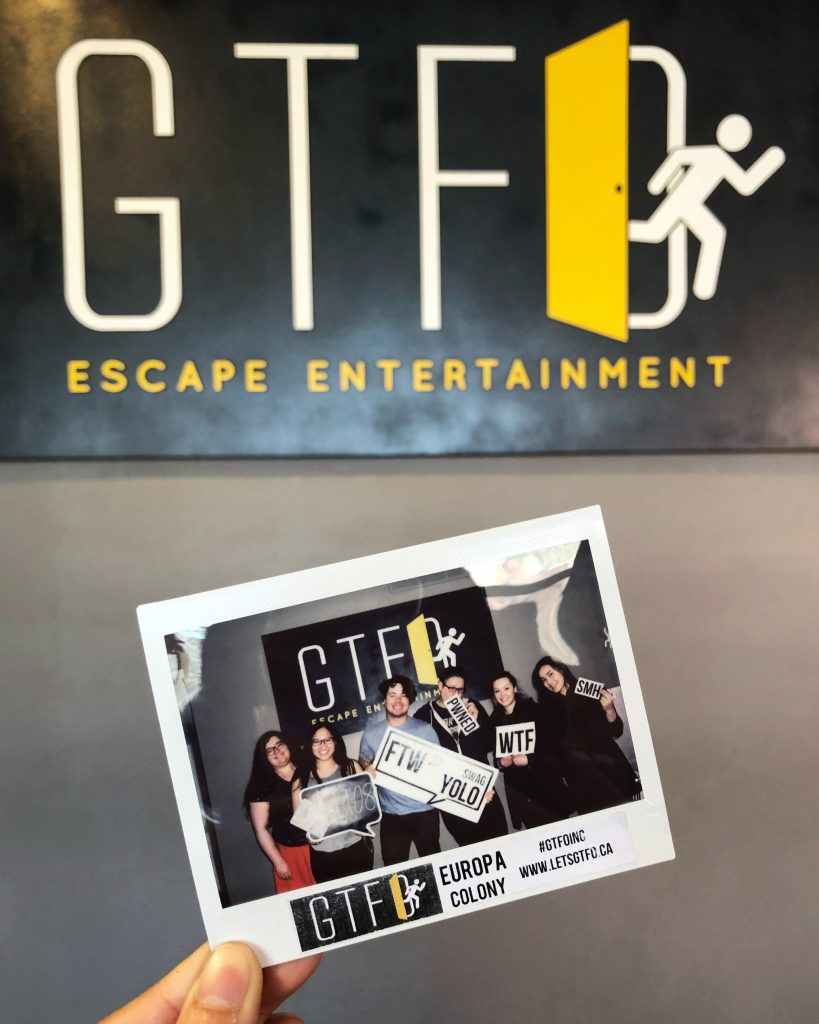 GTFO Escape Room Edmonton - Europa Colony 4836 - Downtown Explore 2