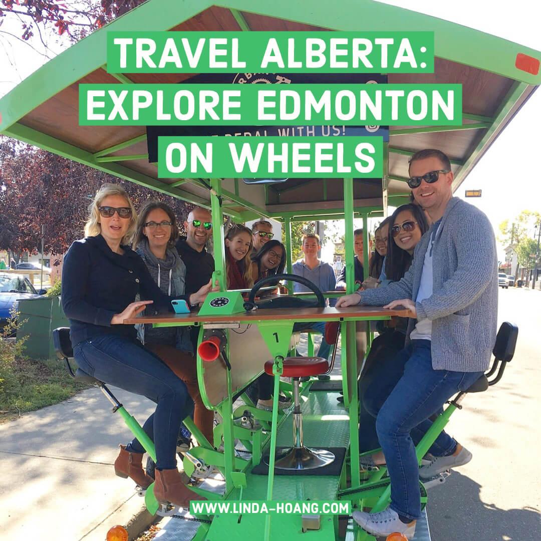 Travel Alberta Explore Edmonton on Wheels Travel Guide
