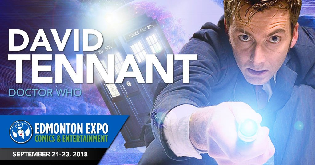 David Tennant - Edmonton Expo Comics Entertainment