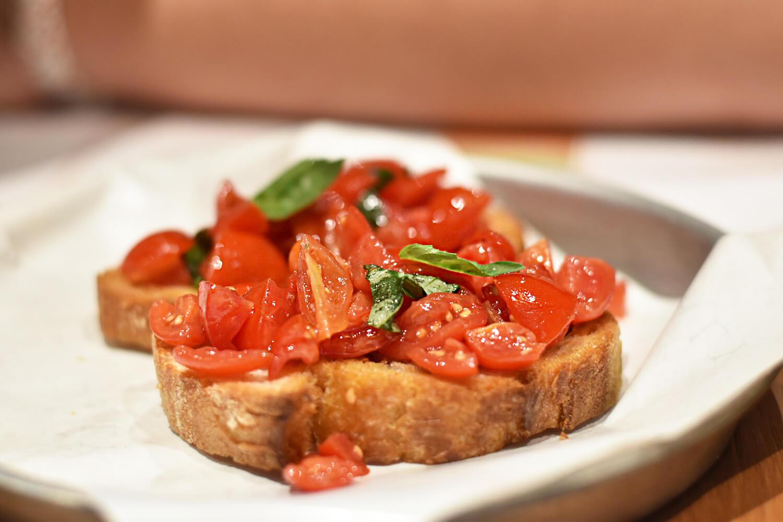 Bruschetta - Rome Italy - Classic Roman Food