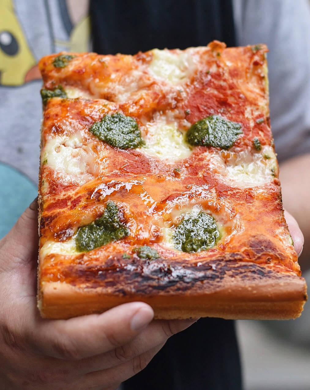 Cinque Terre Italy Five Villages Travel Food Liquria Region Focaccia Bread Pizza Pesto