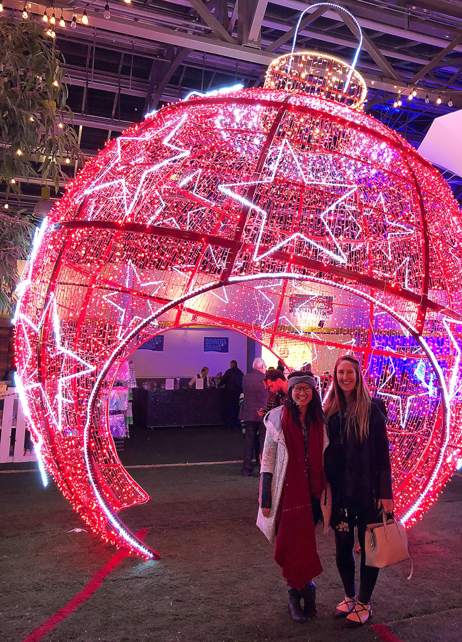 Glow Gardens Edmonton Christmas Festive Instagrammable Photos Enjoy Centre